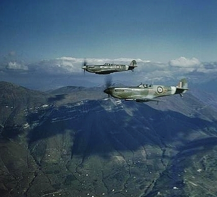 British Supermarine Spitfires