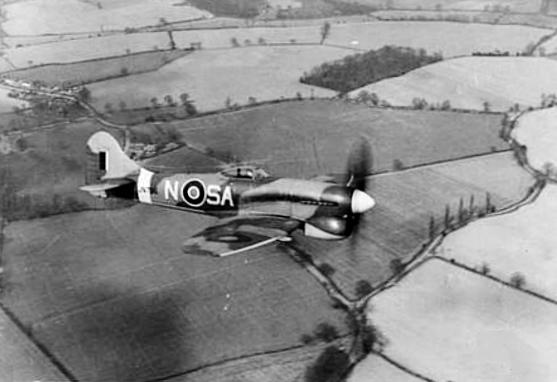 Hawker Tempest on Lockheed P 80