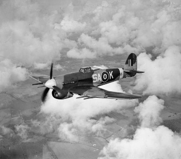 Hawker Typhoon World War Ii Aircraft