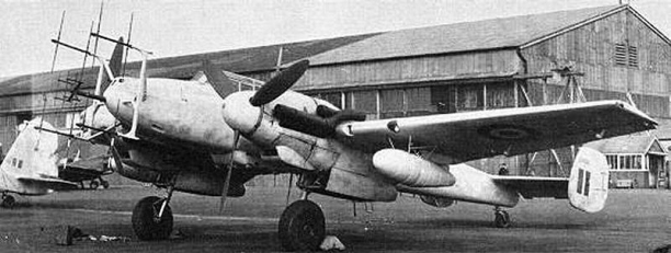 Messerschmitt Bf 110gg