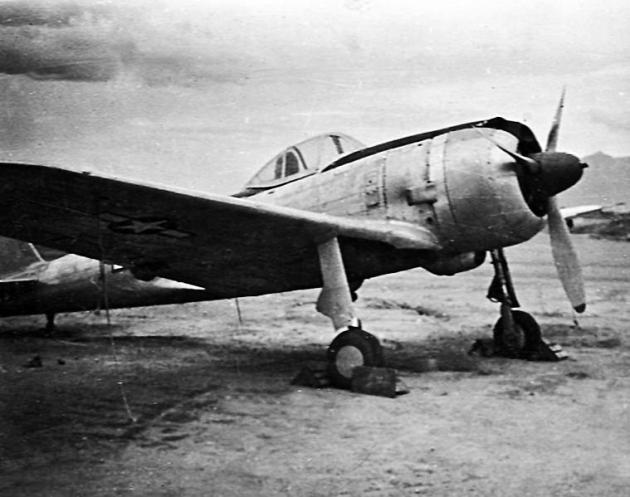 Nakajima Ki-43433Captured