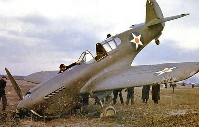 P-40 Warhawka