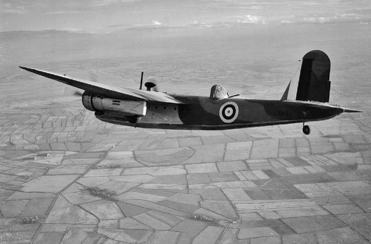 Blackburn Botha on Lockheed P 80
