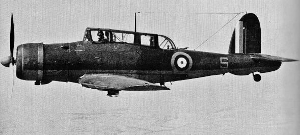 Blackburn Skua on Lockheed P 80