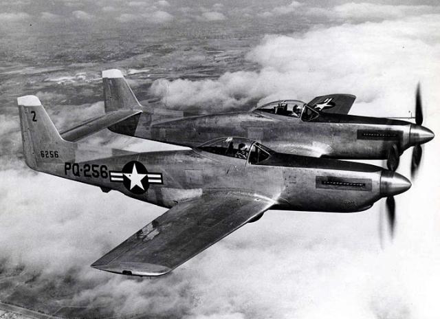 F82 twin mustang