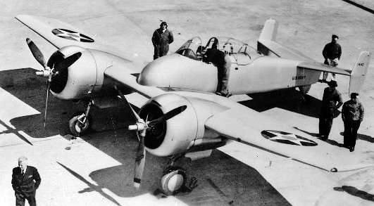 Grumman XF5F Skyrocket1