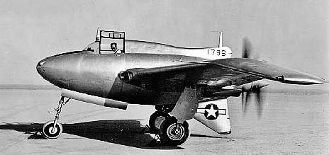 Northrop XP-56 Black Bullet