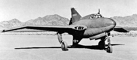 Northrop XP-56 Black Bullets