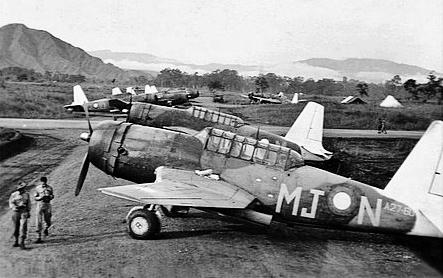 Vultee A-31 Vengeanceg